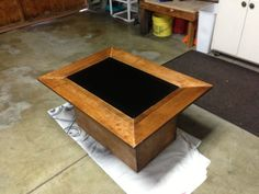Instructable: LCD Coffee Table