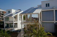 #casa in #legno #ecologica con #energia prodotta solo da #rinnovabili   #acqua #sole e #vento costruita a #Roma