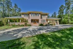 Frank Lloyd Wright Inspired Home on 10 Private Acres! GORGEOUS! Located in Harrisburg, NC - www.leighsells.com