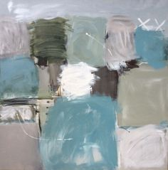 No Ground by Julia Cooper 100x100 on canvas