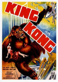 LAS PELÍCULAS QUE YO VEO: una página de cine: KING KONG (King Kong, 1933), de Ernst B. Schoedsack y Merian C. Cooper: Grandes películas