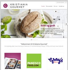 Kristiania Gourmet har valgt Idium Wordpress til sin nettside. Wordpress, Website, Baking, Ethnic Recipes, Food, Design, Gourmet, Patisserie, Bread
