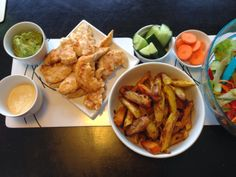 Keeping it Real: Chicken and Chips