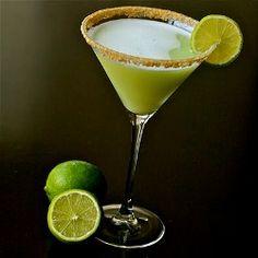 Key Lime Pie Martinis
