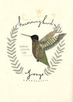 The hummingbird.  Katt Frank