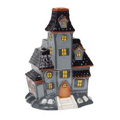I can't resist picking up this  Haunted House wax warmer . It's from Scentsy's 2015 collection. I should have grabbed it up last year and I...