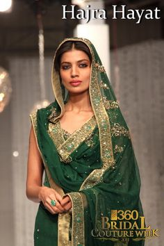 Dark green suit. So traditional and lovely colour!