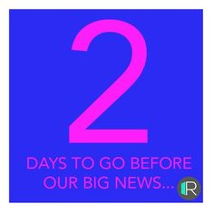 Look out only 2 more days to go http://ift.tt/2lTKg4Z . . #rangeroom #RedLetterDay  #RoomiesReveal #b2b #IndustryExcellence  #TechTastic  #StartUpCelebrations  #WatchThisSpace #RangeRoomJourney  #FashionRetail  #LookOut #Sharing=Caring #connectcollaboratetrade