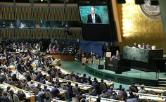 70th session oftheUN General Assembly Vladimir Putin took part intheplenary meeting ofthe70thsession oftheUN General Assembly inNew York. September 28, 2015 19:25 New York TheUN Gener...