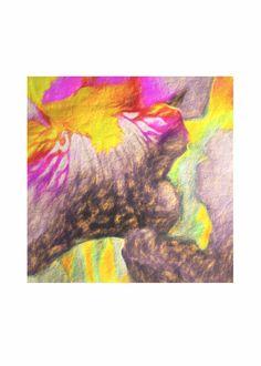 Mens Silk Pocket Square - iris-16 by VIDA VIDA 2rE5g1Zr2