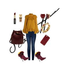 """""""Scarlett"""" by carlalicon2805 on Polyvore featuring moda, 2LUV, Chloé, Mulberry, Tiffany & Co., Betsey Johnson, Yves Saint Laurent, David Jones y Missguided"""