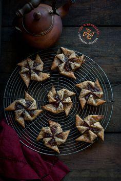 Rye and Marmalade Pinwheel Cookies
