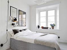 Interior-Inspiration – das schwedische Schlafzimmer! (Foto via Oracle Fox)