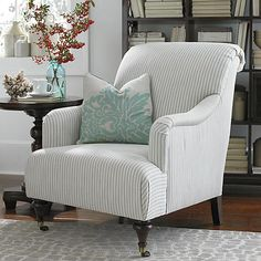 2 of these for family room instead of Love seat. (20% off designer) Accent Chair  Definitely want chairs with arms in the family room