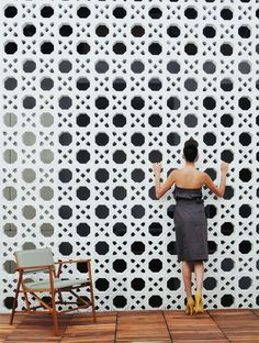 I love a garden screen. If it's not made from plants, then a decorative one…