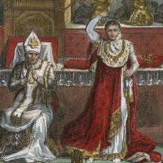 Le sacre de Napoléon - zoom