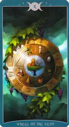 X - Wheel of the Year --- Book of Shadows Tarot (As Above)