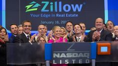 Ringing the closing bell at NASDAQ with Zillow! Barbara Corcoran, Underwater House, My Love, Awesome