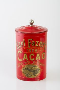Kaakaopurkki Chocolates, Vintage Tins, Tin Boxes, General Store, Old Toys, Simple Pleasures, Coffee Cans, Cocoa, Sweet Home