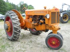 Old Case Tractor Pictures Case DC4 On The Farm