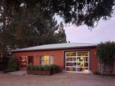 exterior shot of converted garage