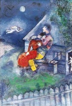 Marc Chagall. #art #artists #chagall | set design/ lighting ideas | Pinterest | Marc Chagall, The Lover and Artists