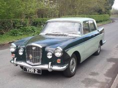 1961 Wolseley - You don't see that every day! Classic Cars British, Old Classic Cars, Classic Style, Vintage Cars, Antique Cars, Automobile, Cars Uk, Ferrari, Commercial Vehicle