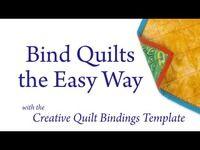 Creative Quilt Bindings Template – Quilt Template
