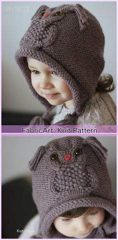 Knit Kids Owl Hat Patterns - Owl Ways Hat Knitting Pattern
