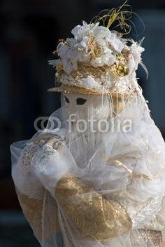 Maschera di carnevale a Venezia - Carnival mask in Venice, Italy © Pietro D'Antonio