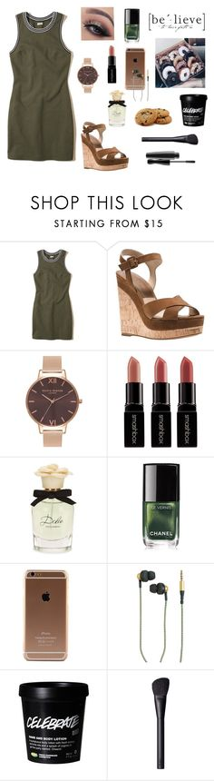 """Meeting Scott, The New Recruit"" by gravityfallsgirl33 ❤ liked on Polyvore featuring Hollister Co., Michael Kors, Olivia Burton, Smashbox, Dolce&Gabbana, Chanel, Kreafunk, GET LOST and NARS Cosmetics"