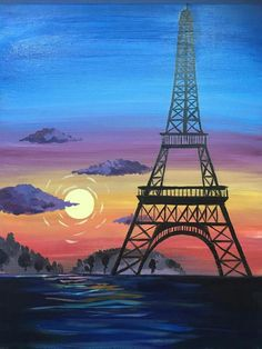 Eiffel tower #eiffeltower #eiffel #paris #painting #art