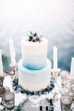 Beautiful Summer Wedding Cakes