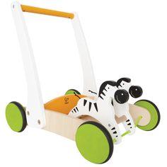 Hape Dřevěné chodítko - zebry