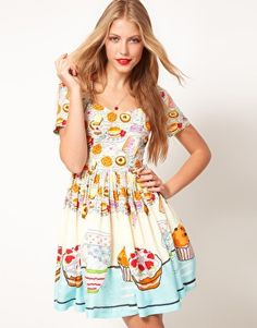 Love Cupcake? Wear this dress to your next Tea Party! #cupcake #dress from #styleswift -- http://www.styleswift.com