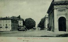 Piazza Cordusio 1930 circa