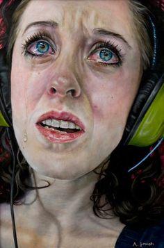 hyperreal paintings  #art #love #cool