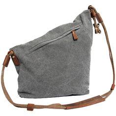 04d1f5b3a2611 Partiss Unisex koreanische Tasche retro literarischen Hochschule Stil  Schultertasche Messenger Bag