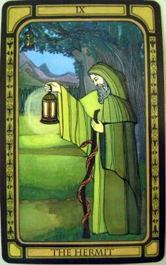 The Hermit - The Golden Tarot, Liz Dean