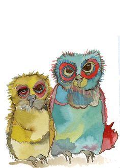 ashmae's Rumbly Tumbly Owls