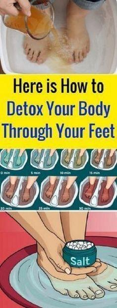 Here Is How To Detox Your Body Through Your Feet #HereIsHowToDetoxYourBodyThroughYourFeet
