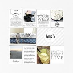 PL2016 Week 15. All products are available at Designer Digitals. #DesignerDigitals #digitalscrapbooking #scrapbookinspiration #scrapbookideas #ProjectLife #Everyday
