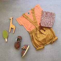 34 vind-ik-leuks, 2 reacties - matao (@matao01260205) op Instagram: 'earth colour   misha&puff sea breeze bonnet natural/teracotta ✖︎ le petit germain emilin tee peach…'