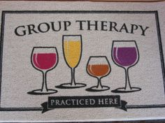 wine lovers mat