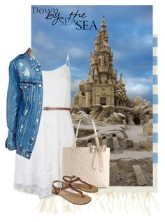 """""""castle"""" by brandygrr ❤ liked on Polyvore featuring NOVA, Betsey Johnson and Merona"""