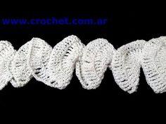 ▶ Bufanda Espiral en tejido crochet tutorial paso a paso. - YouTube