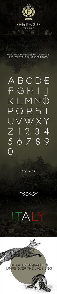 ImagePreview | Free Font Collection | Pinterest