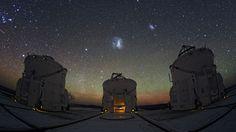 Descubren nueve raras galaxias enanas en torno a la Vía Láctea