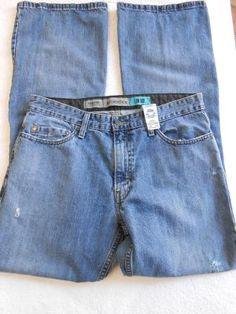 Authentics Signature Levi Strauss & Co Low Boat Mens Jeans Size 34/34