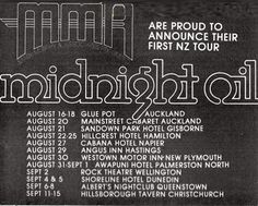 Midnight Oil: MIDNIGHT OIL - 15 Sep 1979 - Hillsborough Tavern, ...